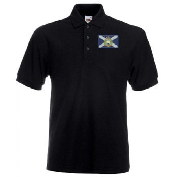 Scottish RE Embroidered Polo Shirt